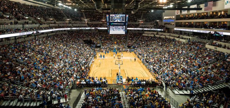 Sponsorship Opportunities Arena Info INTRUST Bank Arena - Intrust arena seating