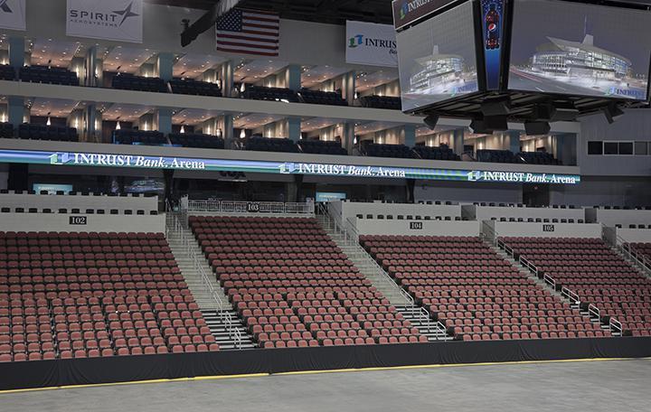 Club Seats Premium Seating INTRUST Bank Arena - Intrust arena seating
