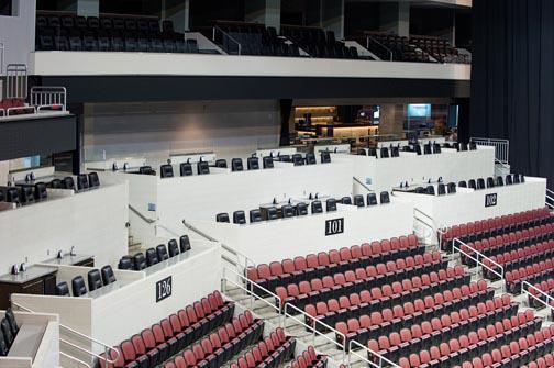 Loge Boxes Premium Seating Intrust Bank Arena