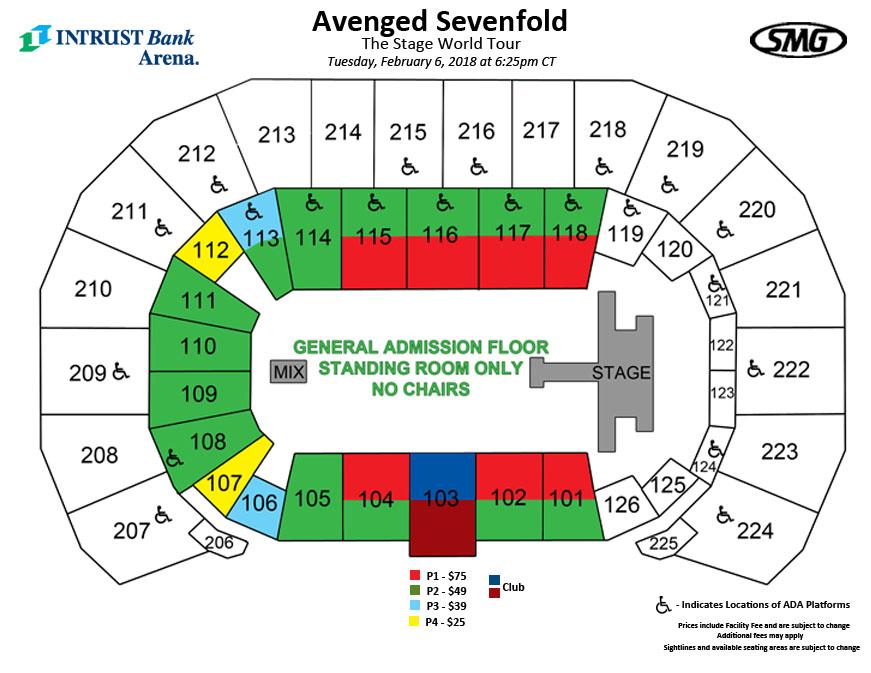 amsoil arena seating chart