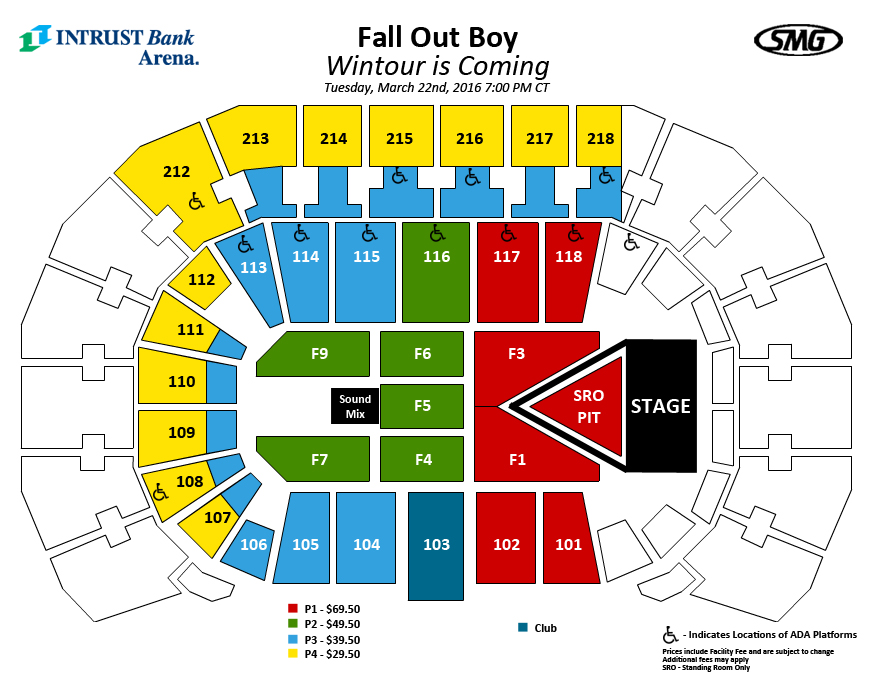 Concert Fall Out Boy Fall Out Boy Groupon
