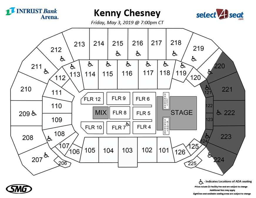 Kenny Seating Map