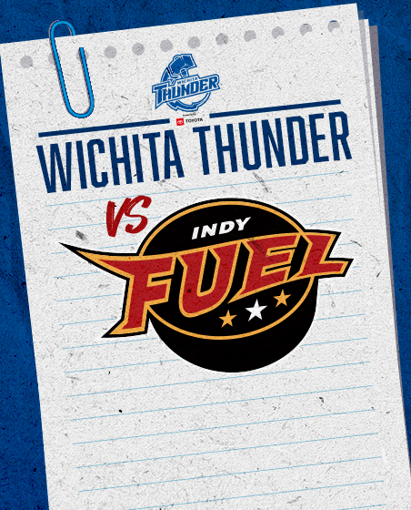 Thunder vs Indy at INTRUST Bank Arena - JAN 24