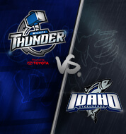 Wichita Thunder vs. Idaho